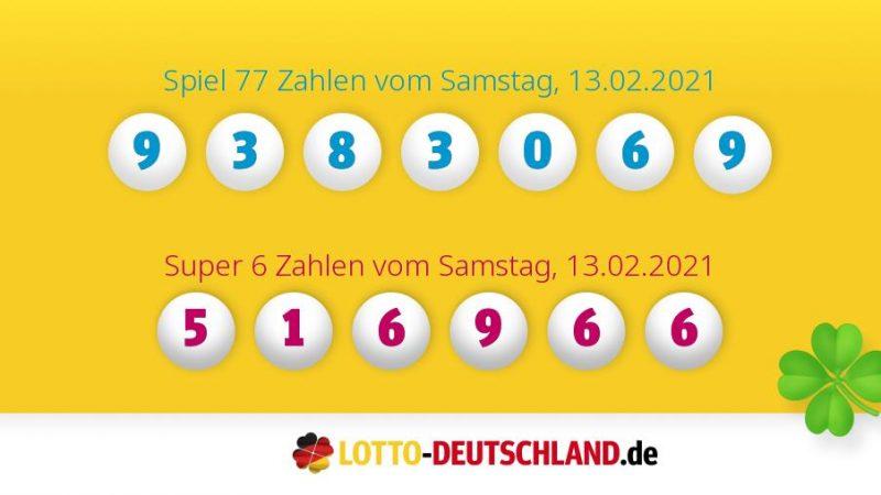 Lottozahlen Vom 09.01.2021