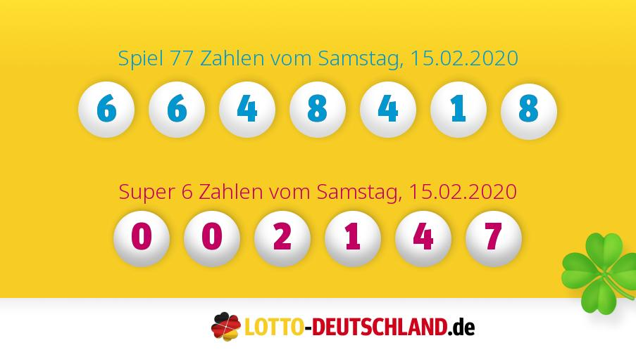 Lotto Am Samstag Quote