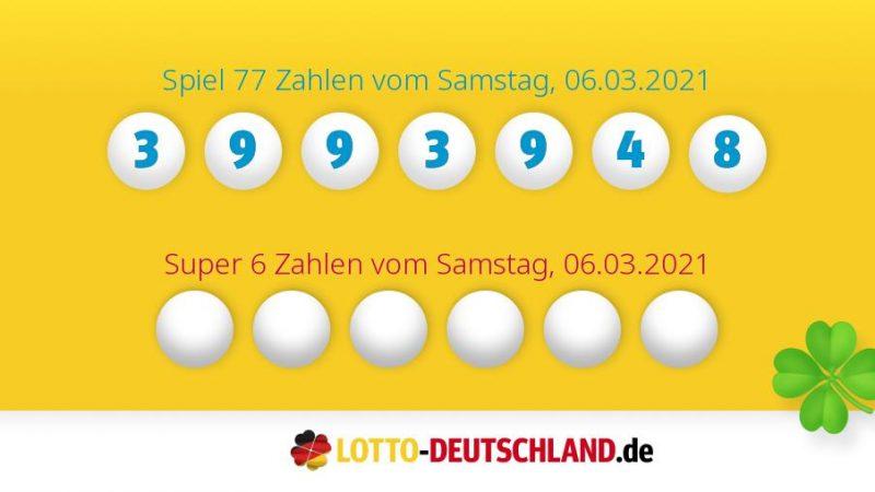 Lottozahlen Vom 03.06.2021