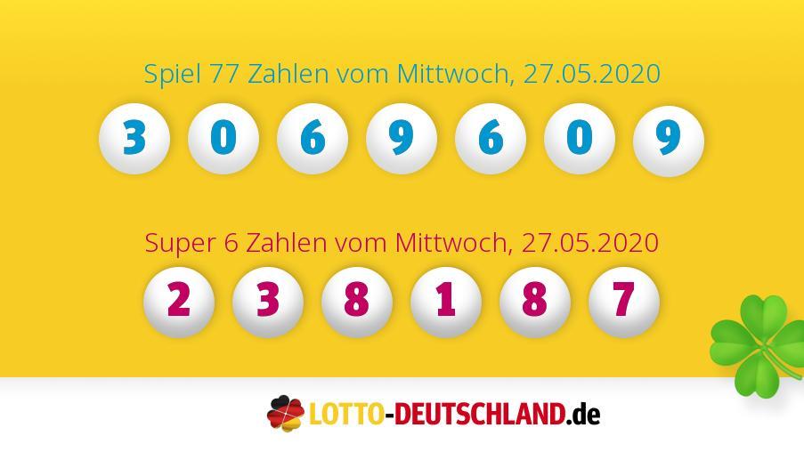 Super Lotto Zahlen