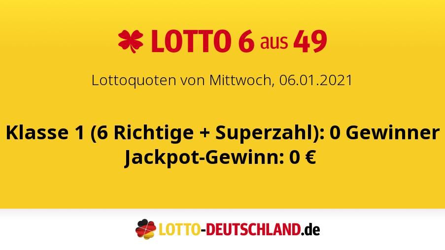 Lotto Mittwoch 2021