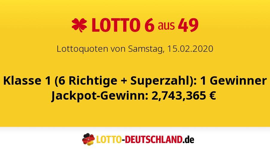 Lotto Hamburg Samstag