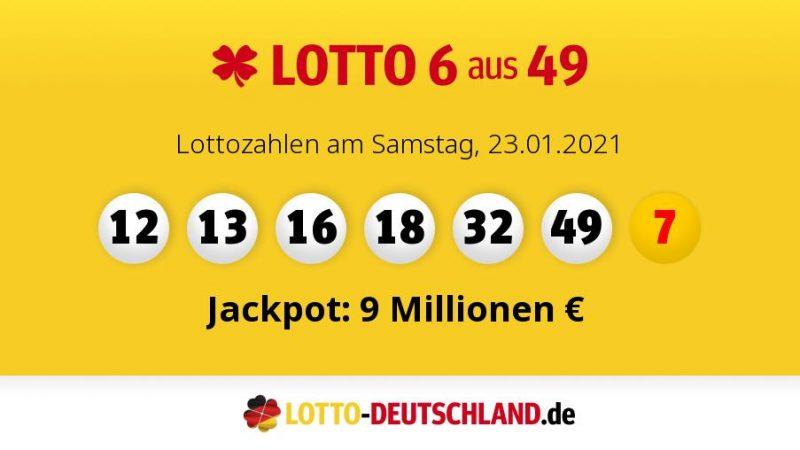 Lottozahlen Vom 08.07.2021