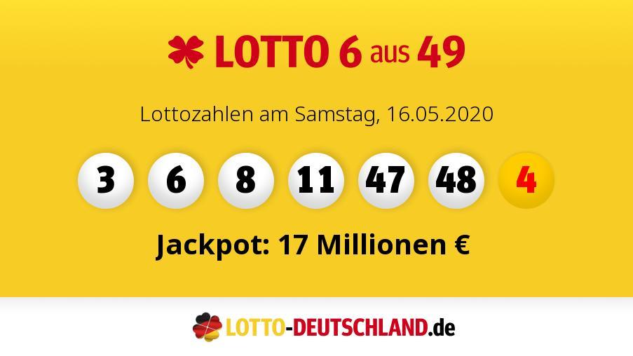 Lottozahlen 3.6 20