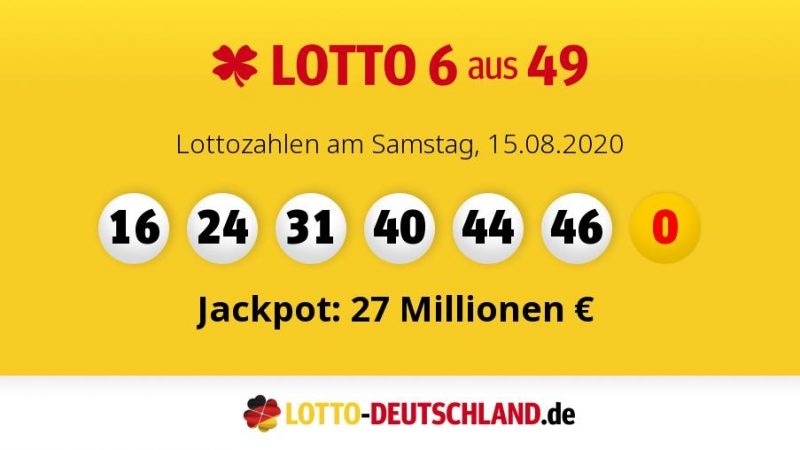 Lottozahlen Deutschland