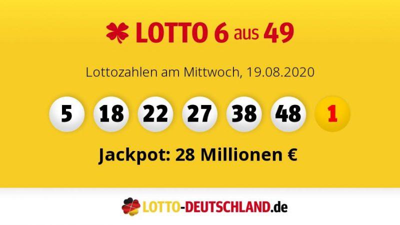 Lottozahlen Samstag 25.04