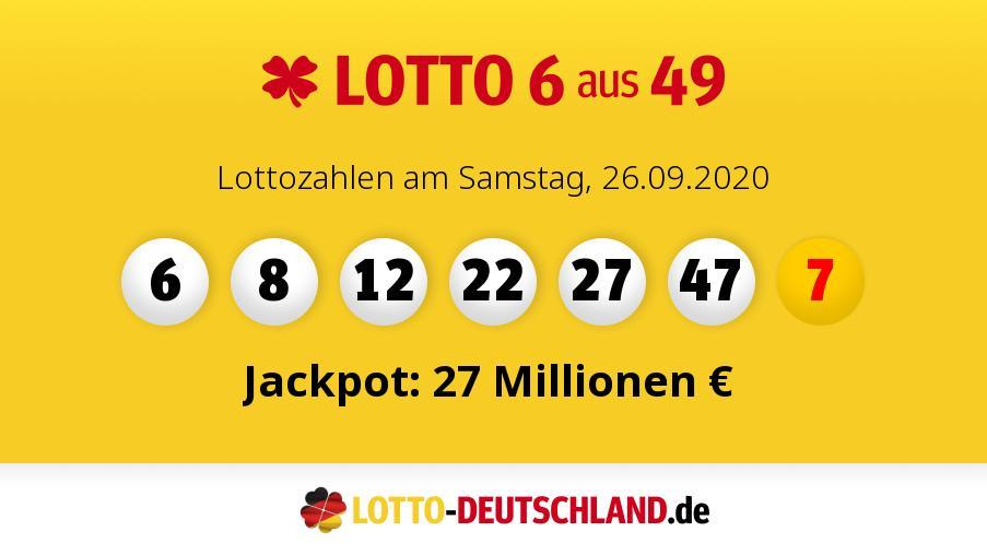 Meist Gezogene Lottozahlen Am Samstag